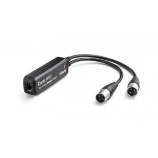 Audinate Dante AVIO Analog Output Adapter 2-Channel