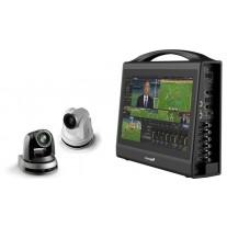 Livestream Studio HD550 - 4k Edition Bundle with 2x Lumens 4K PTZ cameras