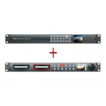 Blackmagic ATEM Production Studio 4K and HyperDeck Studio 12G Bundle