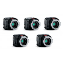 Blackmagic Micro Studio Camera 4K x 5 Camera Bundle