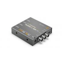 Mini Converter Audio to SDI 4K Front Angle View