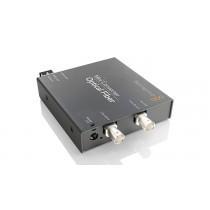 Blackmagic Mini Converter Optical Fiber Front Angle
