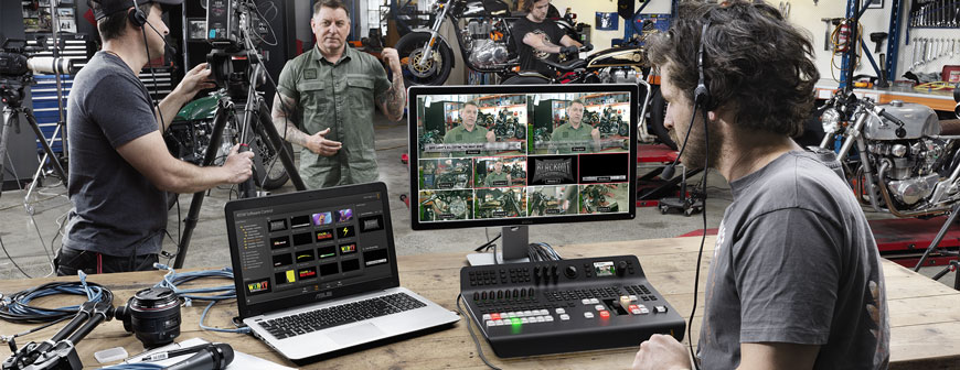Blackmagic ATEM Television Studio Pro HD In Stock At The Streaming Guys