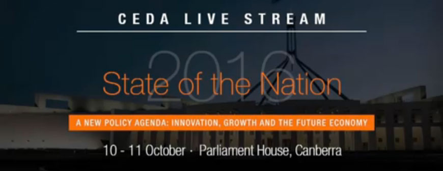 CEDA Live Stream from Parliament House
