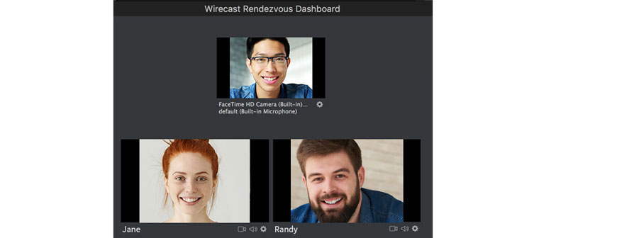 wirecast 8 rendezvous