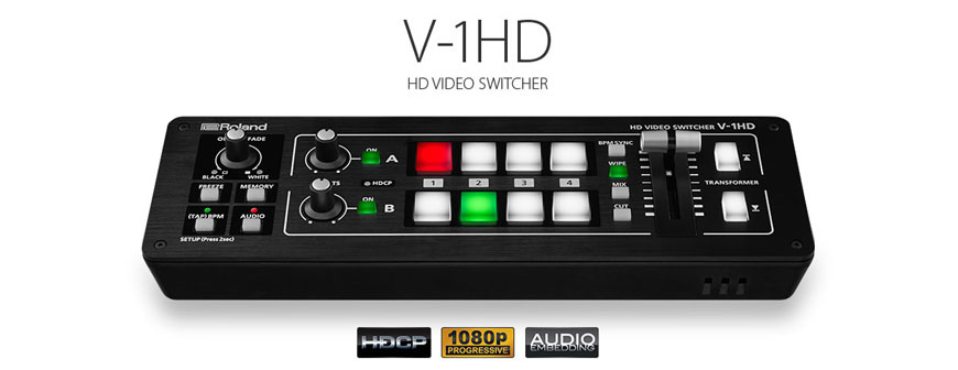 Roland V1hd back in stock at the streaming guys
