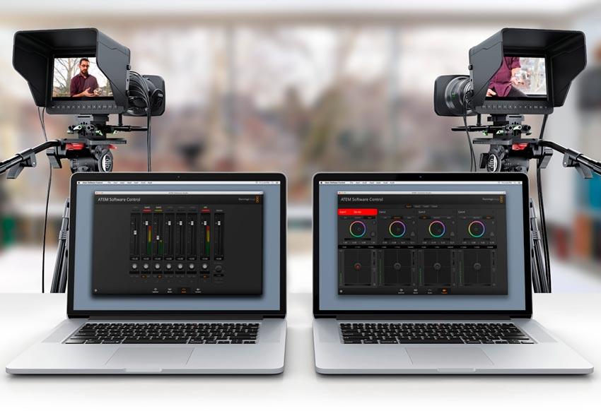 ATEM Television Studio Audio Mixer