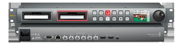 Blackmagic Design Hyperdeck Studio G Professional Broadcast Deck