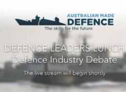 Defence Leader's Debate on Facebook Live