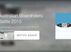 Australian Boardriders Battle 2015